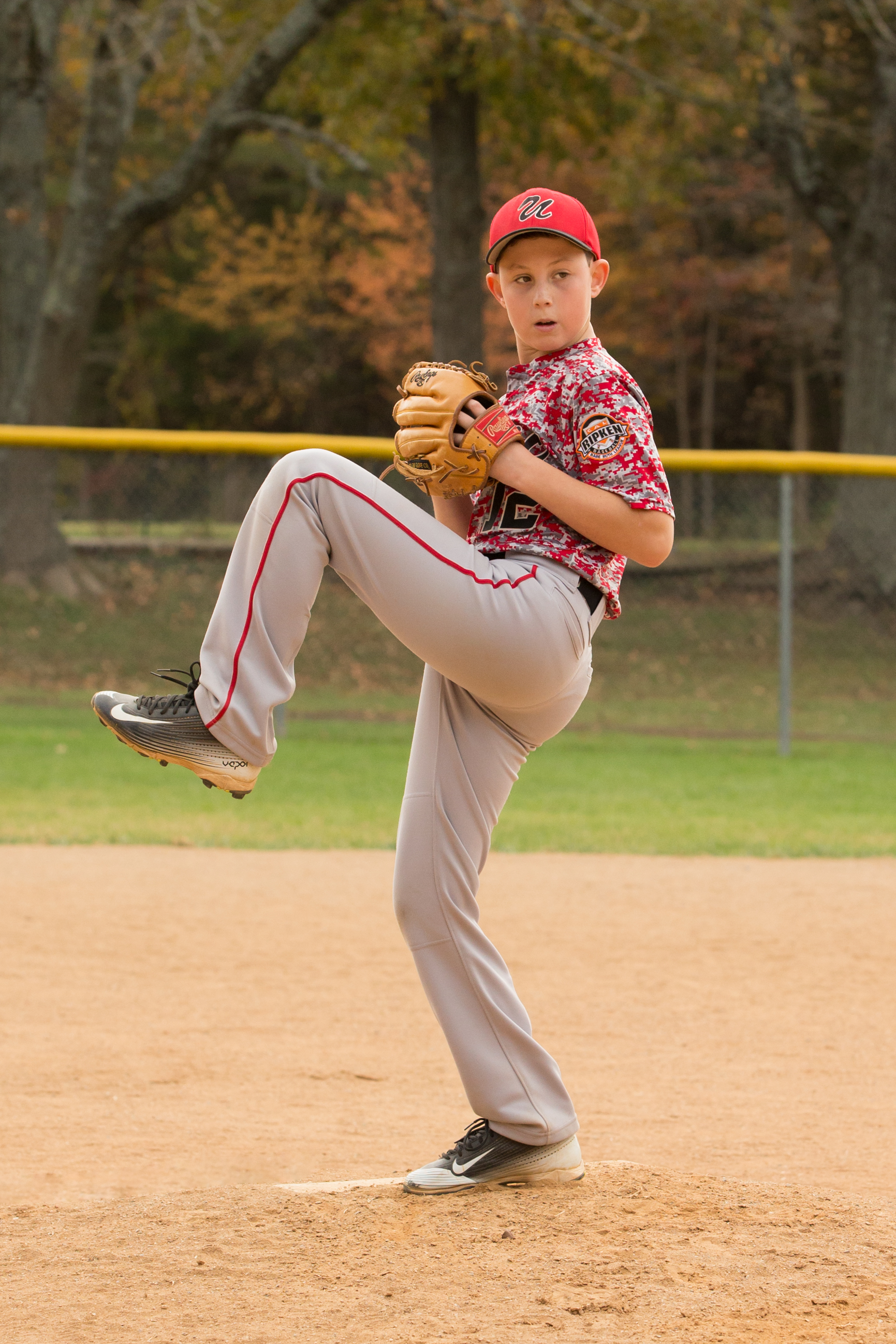 Sports Photography – A Young Player In Action